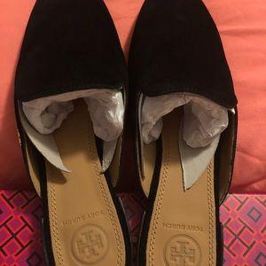 35cbca23fd3f Tory Burch Shoes - Tory Burch Black Carlotta Slide Brand New